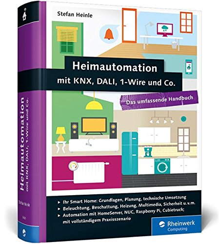 Price comparison product image Heimautomation mit KNX,  DALI,  1-Wire und Co.