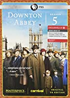 """Masterpiece: Downton Abbey Season 5 Including a Bonus Music CD """"The Music of Downton Abbey"""" {Limited Edition}"""