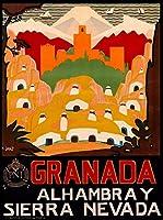 ERZAN大人の子供のおもちゃスペイン語スペイン語スペイン語スペイン語旅行広告芸術創造的なギフト300ピース ジグソーパズル