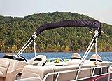 Dowco Marine 681192-08 Beige Custom Fit Pontoon Boat AFT Bimini Top Canopy Storage Boot: Lowe SUNCRUISER