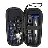 Afeitadora de EVA funda para Micro Touch SOLO y universal de una hoja de afeitadora de viaje, caja de almacenamiento de la máquina de afeitar Electri