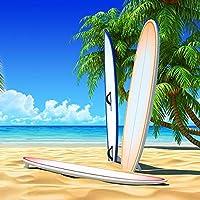 カスタムビーチ風景壁画リビングルームテレビ背景家の装飾写真壁画壁紙寝室の壁-350x250cm