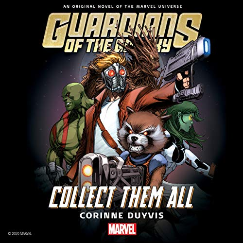 Guardians of the Galaxy cover art