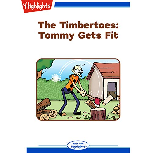 The Timbertoes: Tommy Gets Fit copertina