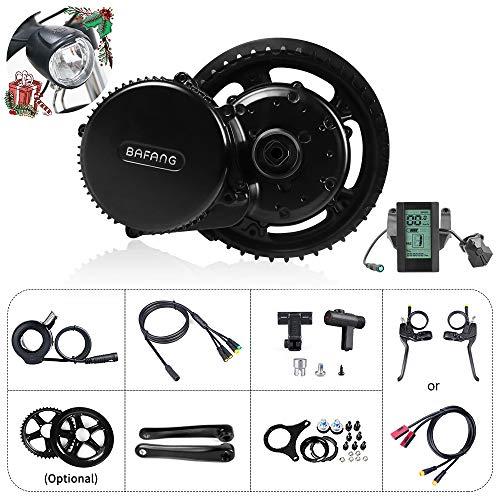 Bafang Elektrisk cykelmotor kit Mid Drive 500 W 48 V cykel konverteringssats Ebike komponenter kit elektrisk cykelmotor BBS02B