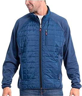 Orvis Men`s Mixed Media Full Zipper Quilted Jacket