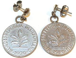 german 10 pfennig coin