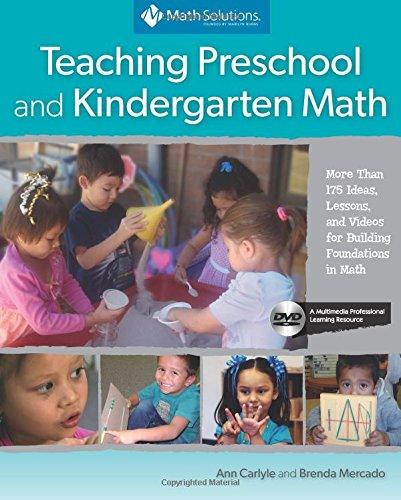 Compare Textbook Prices for Teaching Preschool and Kindergarten Math: More Than 175 Ideas, Lessons, and Videos for Building Foundations in Math, A Multimedia Professional Learning Resource First Edition ISBN 9781935099444 by Carlyle, Ann,Mercado, Brenda