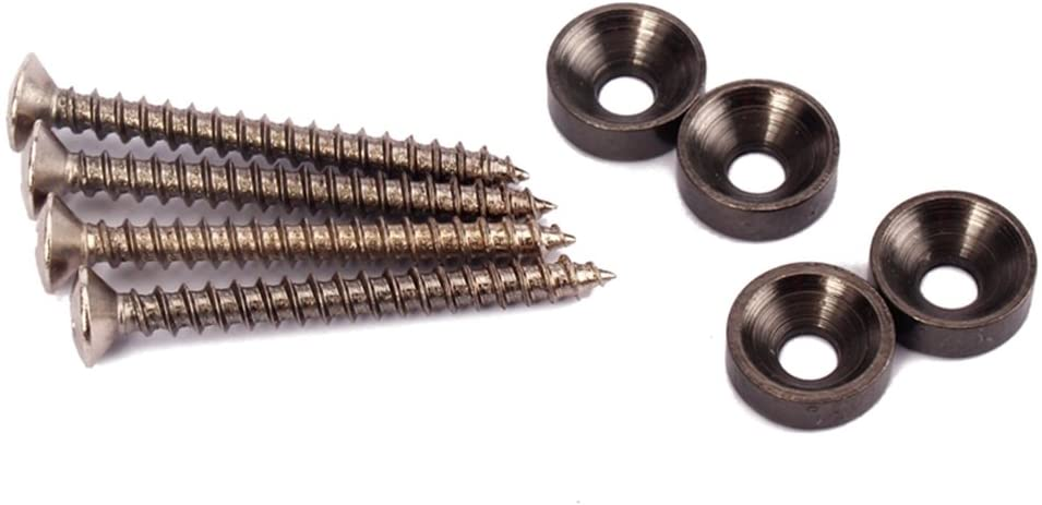 WINOMO Black Neck Joint Bushings Guitar Screws P Bolts Large special price !! Max 47% OFF and