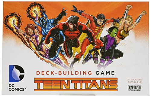 Play as the world-famous Teen Titans! Ongoing abilities make a big splash! Lots of female characters! Fully compatible with all previous releases in the line!