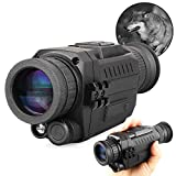 Night Vision Monocular 5x35mm Digital zoom 8x Infrared Hunting Scope with Memory Card