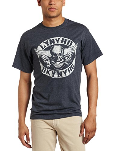 FEA - Camiseta - Hombre - (Camiseta) Lynyrd Skynyrd - Biker Patch