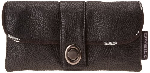 O'Neill Damen Geldbeutel AC Delta Large Wallet, Black Out, 1.5 x 12 x 8, 1 Liter, 359246