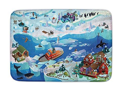 Achoka Der Nordpol Ultra-weiche Spielteppich