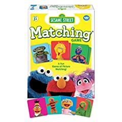 What you get – Sesame street matching game comes with 72 tiles and instructions. Clear instructions – Easy to learn with a clear instruction manual. Learn to play in less than five minutes! Develops critical skills – this game helps preschoolers prac...
