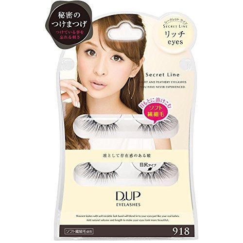 D.U.P Eyelashes Secret line 918 [Badartikel]