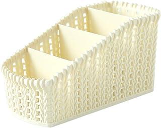 $34 » SUNUQ 4 Grid Cosmetic Storage Basket - Desktop Office Storage Organizer Storage Rack Creative Makeup Desk Office Supply Or...