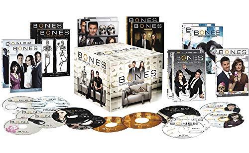 Box Coleção Dvd Bones 1ª A 7ª Temporada - 39 Dvds