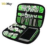 Custodia per cavi dati USB, batterie portatili, giochi e memorie. Contenitore in nylon per...