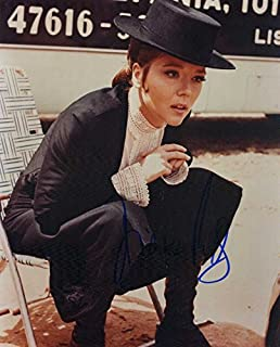 Diana Rigg THE AVENGERS In Person Autographed Photo