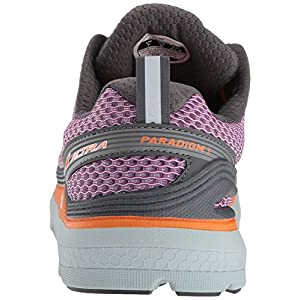 ALTRA Women's Paradigm 3 Running Shoe, Purple/Orange, 6 B US