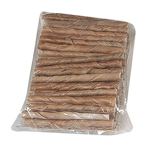 FLAMINGO Kauartikel KAUROLLEN für Hunde 9 - 10mm (100er Pack)