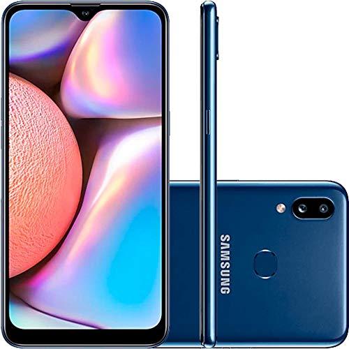 Smartphone Samsung Galaxy A10s, 6,2, 32 Gb, Câmera Dupla, Azul
