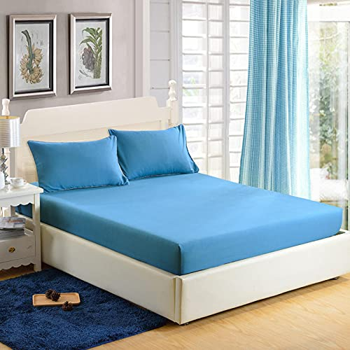NTtie Easy Care Soft Brushed Microfiber Fabric -Shrinkage and Fade Resistant One-piece protective cover, bed cover, dust cover, non-slip cover