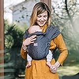 Love & Carry Love Tie/Mei Tai - Riñonera ergonómica para bebé