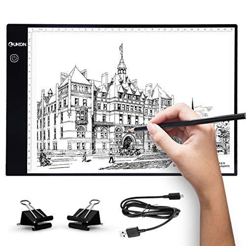 elfeland ultrasottile luce LED di disegno tracciamento Board di alimentazione USB A4 Scheda copia