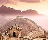 YZYGNLXS 1500 Piece Puzzle 3D Puzzles - Genuine Puzzles, La Gran Muralla China Puzzle 1.500 Piezas Puzzle Educational Game Juguete para Aliviar Estrés Juego Intelectual Cerebro Desafío (87 * 57Cm)
