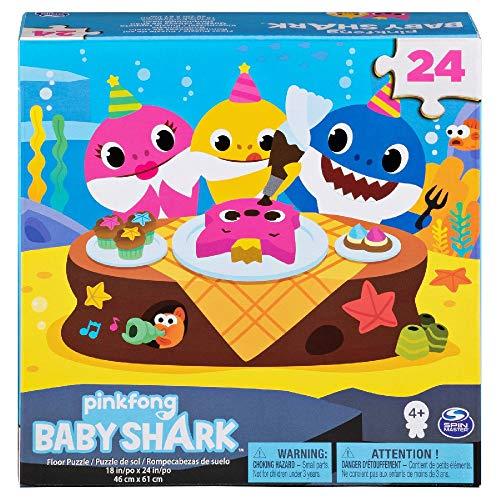 BABY SHARK Puzzle 24 pezzi, 46 x 61 cm, grafiche assortite