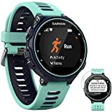 Garmin 010-01614-01 Forerunner 735XT GPS Running Watch with Multisport Features, Midnight Blue Bundle with Deco Gear Screen Protector