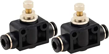 Beduan Pneumatic Plastic Push to Connect Quick Fitting Equal Cross Union Connector with 4 Openings 10 mm OD(Pack of 2