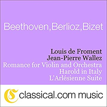 Ludwig van Beethoven, Romance For Violin And Orchestra No. 2 In F Major, Op. 50