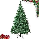 GEEDIAR Árbol de Navidad artificial de 180 cm, con 580 puntas, realista, ramas densas, fácil montaje
