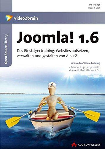 Preisvergleich Produktbild Joomla! 1.6 - Video-Training. 6 Stunden Video-Training