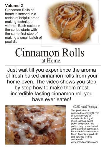Cinnamon Rolls at Home