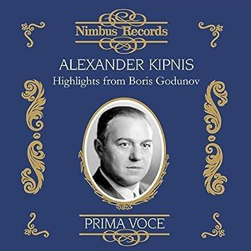Alexander Kipnis: Highlights from Boris Godunov