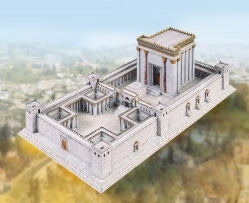 Aue Verlag Modellbausatz Tempel in Jerusalem 55x 29x 16cm
