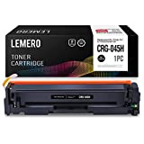LEMERO kompatibel Canon 045 045H Toner für Canon i-Sensys LBP611Cn LBP613Cdw MF631Cn MF633Cdw MF635Cx imageCLASS MF634Cdw MF632Cdw LBP612Cdw,Schwarz