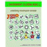 Environment Coloring Books: Coloring For Toddlers 35 Image Quizzes Words Activity And Coloring Books Hydropower…