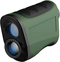 Laser Rangefinder 1100Y for Golf/Bow Hunting/Shooting High-Precision 9 Ranging Functions with Slope/ Flagpole Lock/Continu...