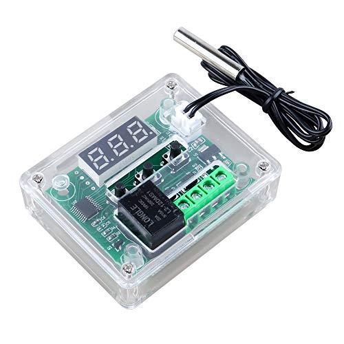 DesignSter Módulo de termostato W1209 12V Digital, Switch 50-110 ° C Electronic Controlador de temperatura con la alta precisión NCT Sensor impermeable