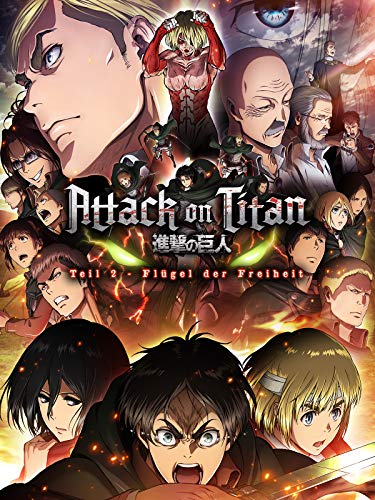 Attack on Titan - Anime Movie Teil 2: Flügel der Freiheit
