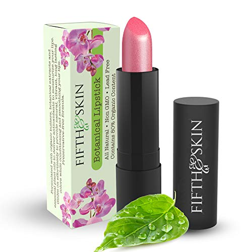 Botanical Lipstick (CHERRY PLUM) Natural | Organic | Certified Cruelty Free | Lead Free | Paraben Free | Gluten Free | Healthy | Moisturizing | Vibrant Color that's Good for your Lips!