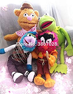 TANGGOOO The Frog Drummer Swedish Chef Gonzo Fozzie Bear Plush Toy U Must Have My Favourite Superhero Unboxing Toys