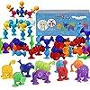 AISFA新感覚知育ブロック 吸盤 おもちゃ 96セット お風呂のおもちゃ 知育玩具 積み木 組み立て オリジナル 誕生日 プレゼン DIY スクイグズ 6歳以上男の子 女の子 商品名称