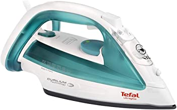Tefal Ultragliss Steam Iron, Green/White, FV4921