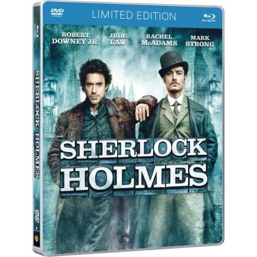 Sherlock Holmes (Blu Ray+Dvd) Steelbook Limited Edition